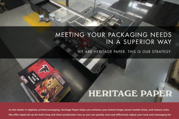 Heritage Paper Digital Printing - General Cover