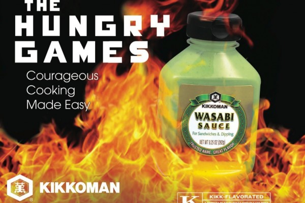 Kikkoman Hunger Games Moive Flyer