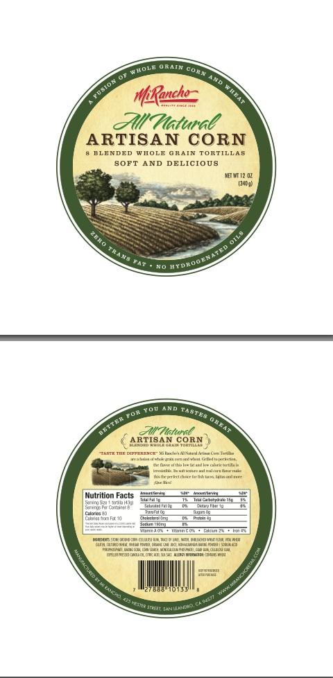 Mi-Rancho-All-Natural-Corn-Label