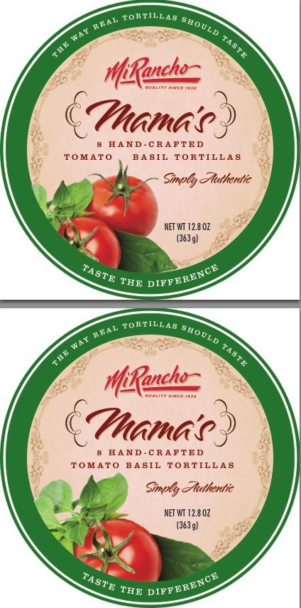 Mi-Rancho-Mamas-Tomato-Basil-Tortillas-Label