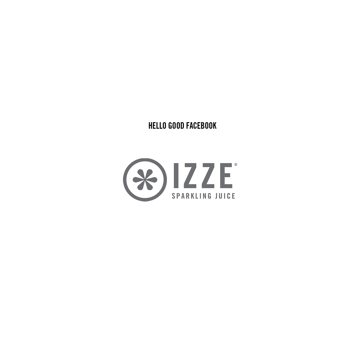 IZZE_hello_good_facebook